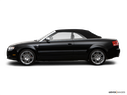 2009 Audi S4 Drivers side profile, convertible top up (convertibles only)