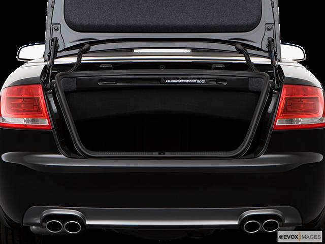 2009 Audi S4 Trunk open