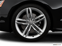 2009 Audi S5 Front Drivers side wheel at profile