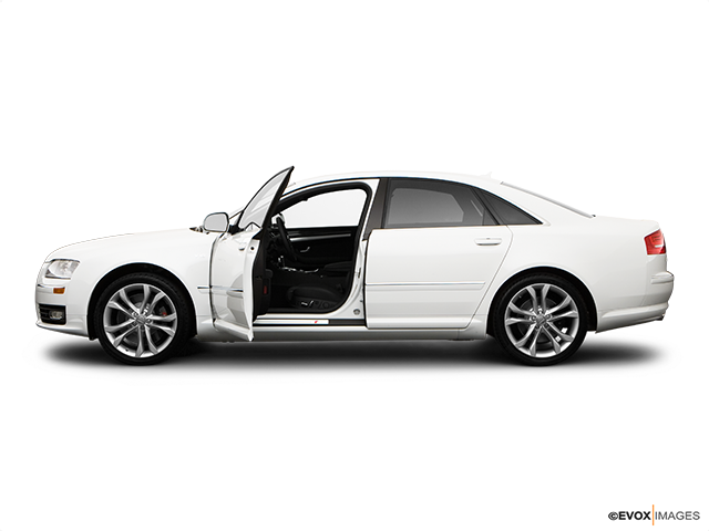 2009 Audi S8 Driver's side profile with drivers side door open