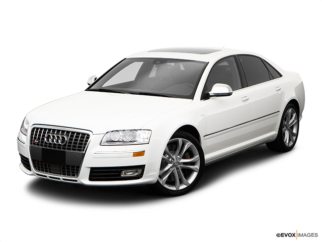 2009 Audi S8 Front angle view