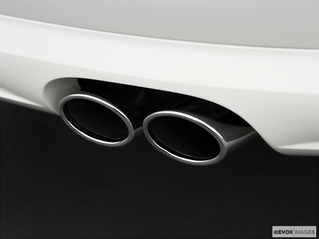2009 Audi S8 Chrome tip exhaust pipe