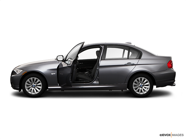 2009 BMW 3 Series Driver's side profile with drivers side door open