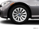 2009 BMW 3 Series Front Drivers side wheel at profile