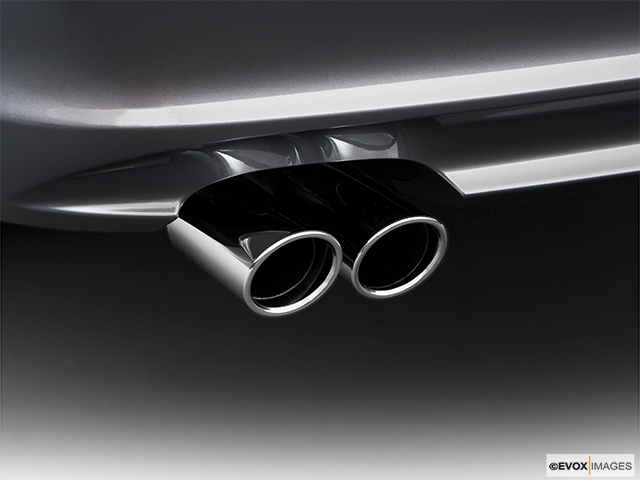 2009 BMW 3 Series Chrome tip exhaust pipe