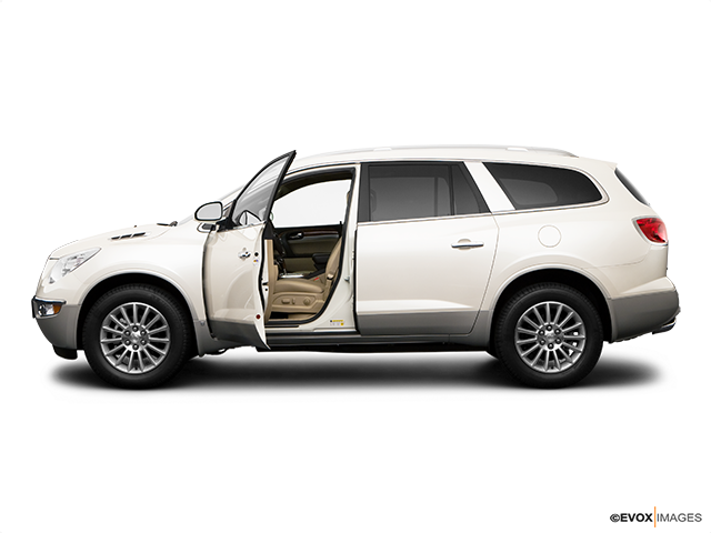 2009 Buick Enclave Driver's side profile with drivers side door open