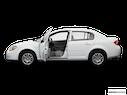 2009 Chevrolet Cobalt Driver's side profile with drivers side door open