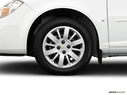 2009 Chevrolet Cobalt Front Drivers side wheel at profile