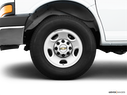 2009 Chevrolet Express Cargo Front Drivers side wheel at profile