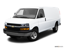 2009 Chevrolet Express Cargo Front angle view