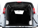 2009 Chevrolet Express Cargo Trunk open