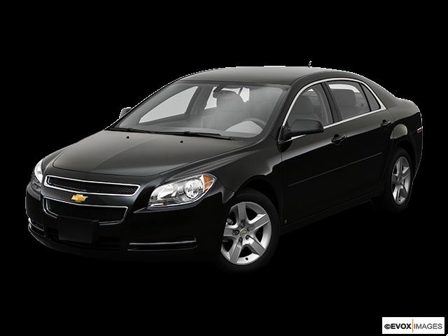2009 Chevrolet Malibu Front angle view