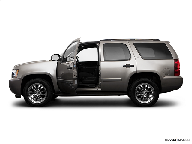 2009 Chevrolet Tahoe Driver's side profile with drivers side door open