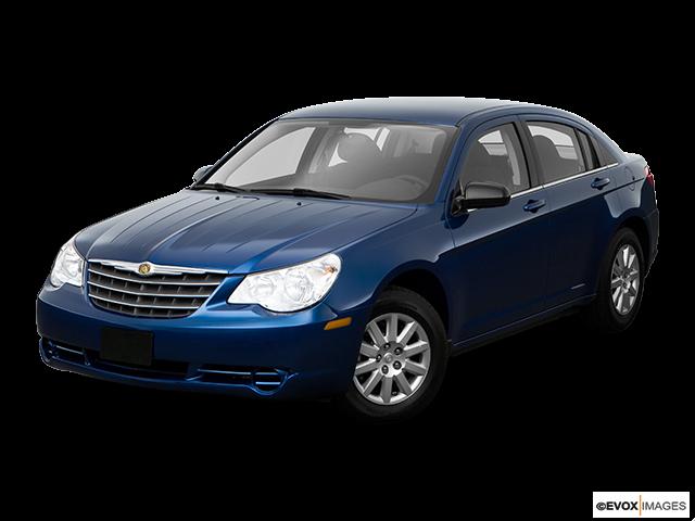 2009 Chrysler Sebring Front angle view