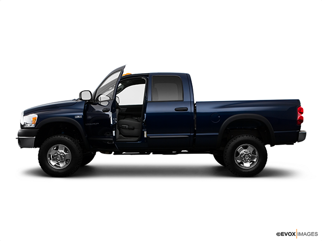 2009 Dodge Ram Pickup 2500 Driver's side profile with drivers side door open