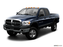 2009 Dodge Ram Pickup 2500 Front angle view
