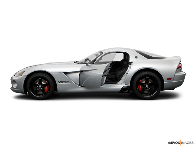2009 Dodge Viper Driver's side profile with drivers side door open