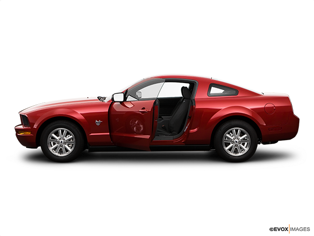 2009 Ford Mustang Driver's side profile with drivers side door open