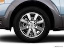 2009 Ford Taurus X Front Drivers side wheel at profile