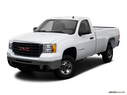 2009 GMC Sierra 2500HD Front angle view