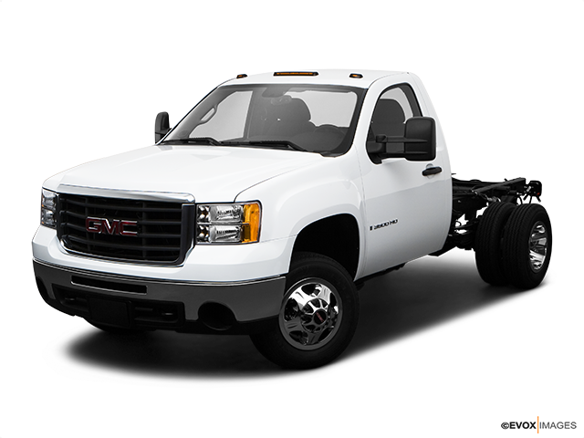 2009 GMC Sierra 3500HD Front angle view