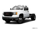 2009 GMC Sierra 3500HD Front angle medium view