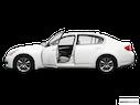2009 INFINITI G37 Sedan Driver's side profile with drivers side door open