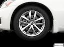 2009 INFINITI G37 Sedan Front Drivers side wheel at profile
