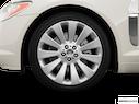 2009 Jaguar XF Front Drivers side wheel at profile