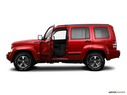 2009 Jeep Liberty Driver's side profile with drivers side door open