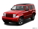 2009 Jeep Liberty Front angle view