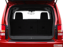 2009 Jeep Liberty Trunk open
