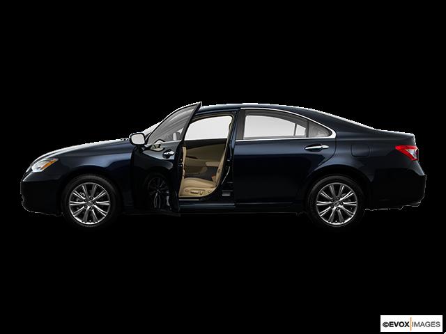 2009 Lexus ES 350 Driver's side profile with drivers side door open