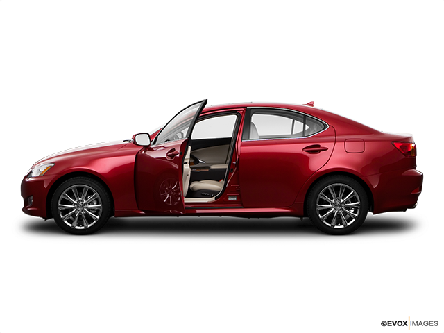 2009 Lexus IS 250 Driver's side profile with drivers side door open