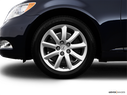 2009 Lexus LS 460 Front Drivers side wheel at profile