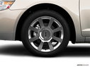 2009 Lincoln MKZ Front Drivers side wheel at profile