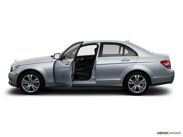 2009 Mercedes-Benz C-Class Driver's side profile with drivers side door open