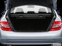 2009 Mercedes-Benz C-Class Trunk open