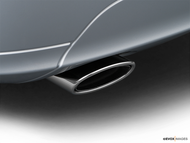 2009 Mercedes-Benz C-Class Chrome tip exhaust pipe