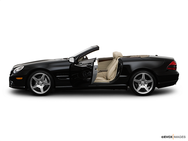 2009 Mercedes-Benz SL-Class Driver's side profile with drivers side door open