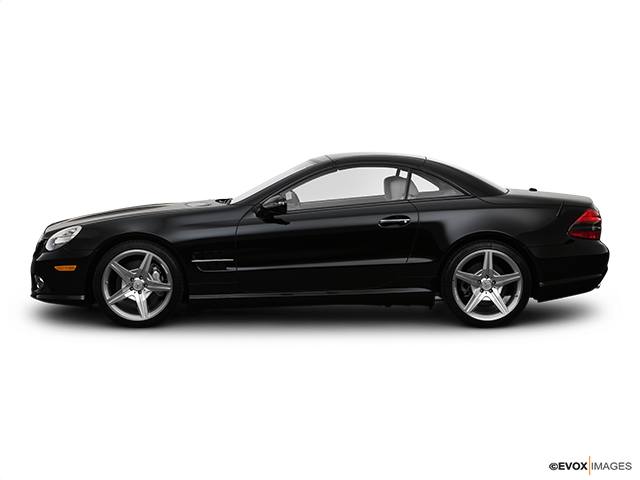 2009 Mercedes-Benz SL-Class Drivers side profile, convertible top up (convertibles only)
