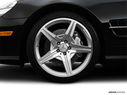 2009 Mercedes-Benz SL-Class Front Drivers side wheel at profile