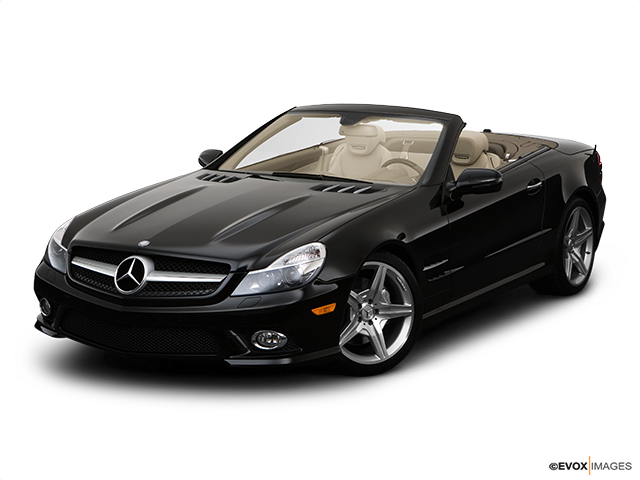 2009 Mercedes-Benz SL-Class Front angle view