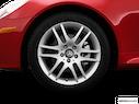 2009 Mercedes-Benz SLK Front Drivers side wheel at profile