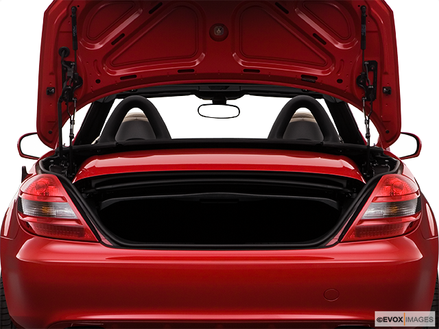 2009 Mercedes-Benz SLK Trunk open