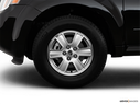 2009 Mercury Mariner Front Drivers side wheel at profile