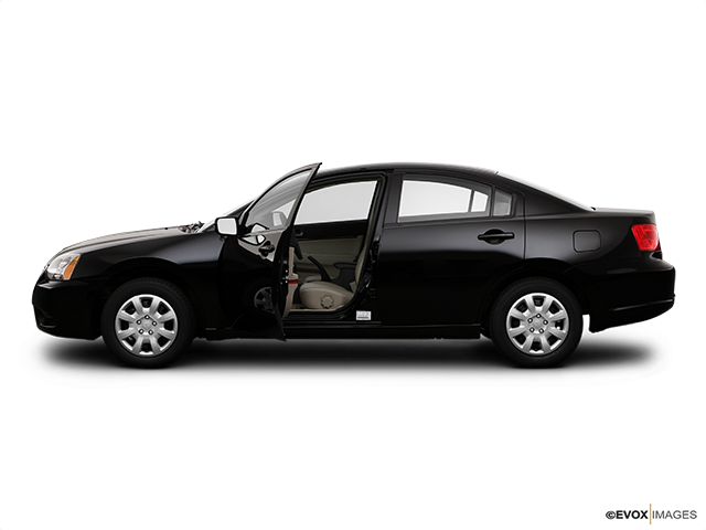 2009 Mitsubishi Galant Driver's side profile with drivers side door open