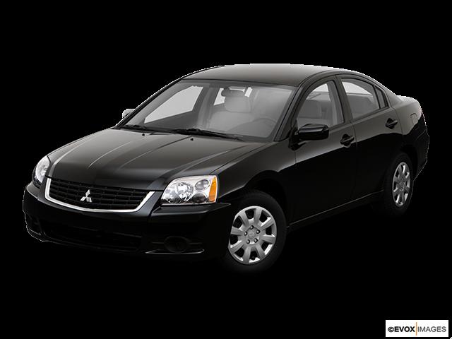 2009 Mitsubishi Galant Front angle view