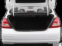 2009 Nissan Versa Trunk open
