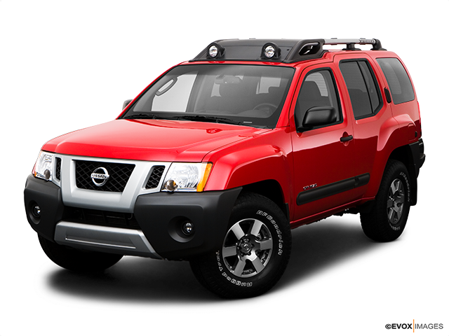 2009 Nissan Xterra Front angle view